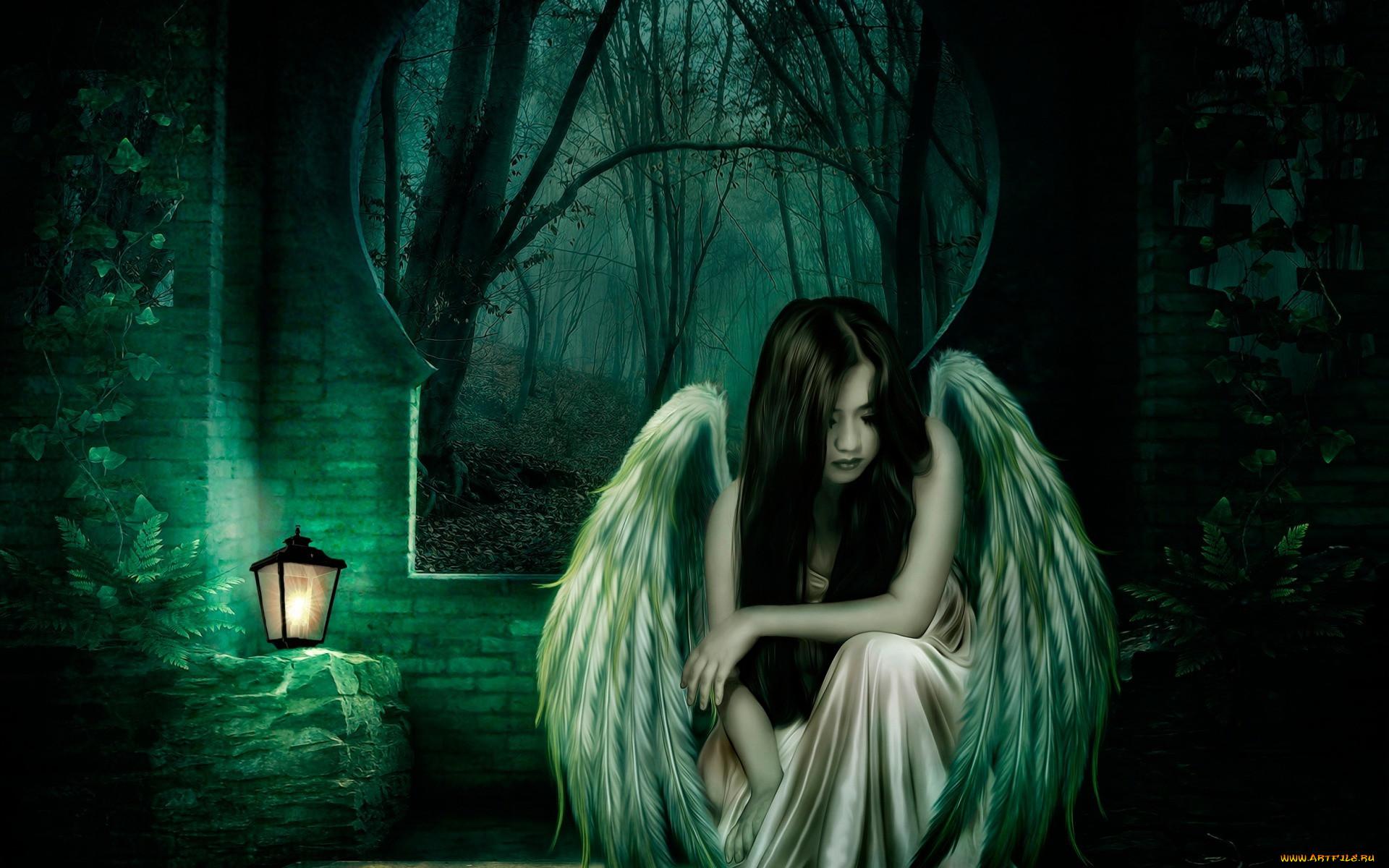 место грустные картинки ангелы на аву самых любимых